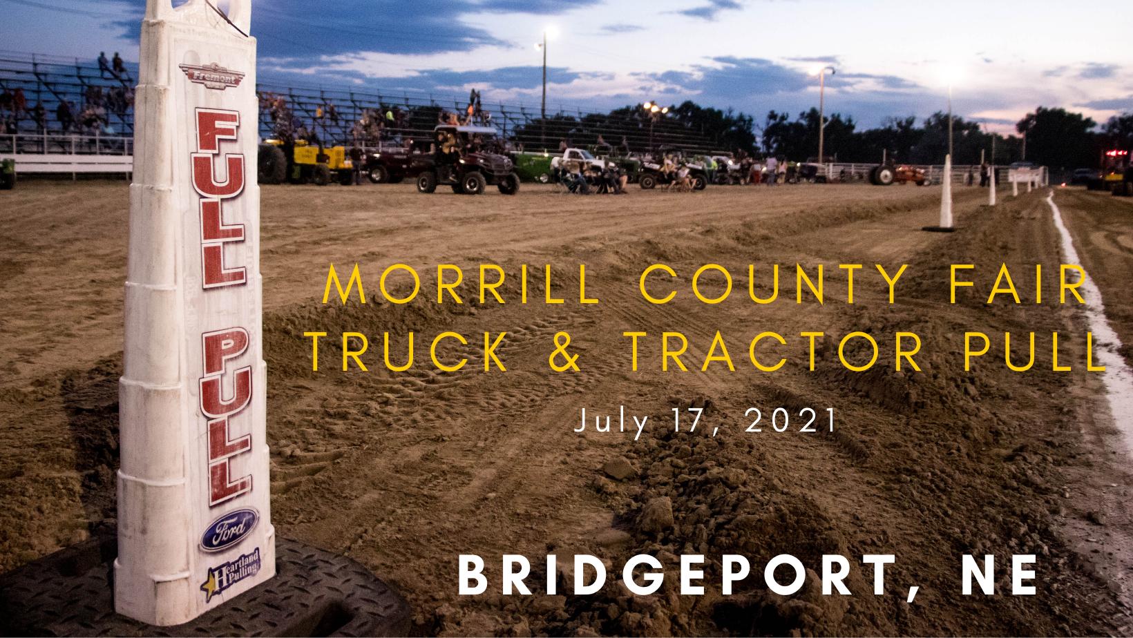 Morrill County Fair Truck & Tractor Pull
